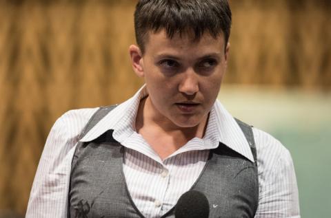 Надежда Савченко выступала в ПАСЕ в костюме, который пошила сама в 17 лет