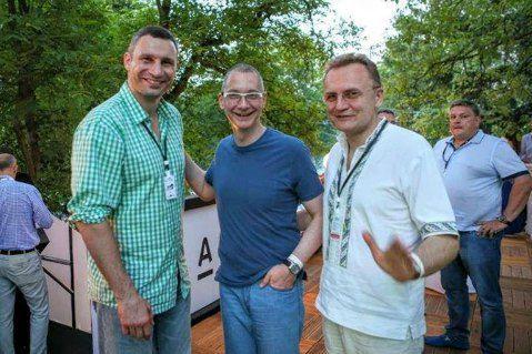 Жена и сын Порошенко, генпрокурор Луценко, глава АП Ложкин и другие засветились на фестивале во Львове