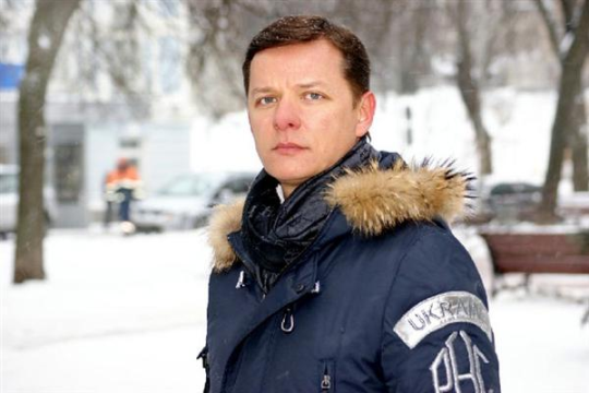 Олега Ляшко в Новый год наряжали зайцем
