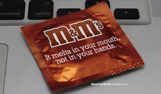 M&M's. Тает во рту, а не в руках.
