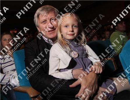 Владимир Горянский с дочкой Машей
