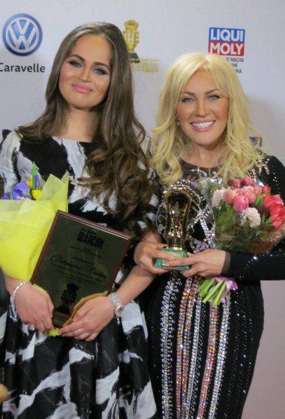 Таисия Повалий в Кремле получила премию «Шансон года»
