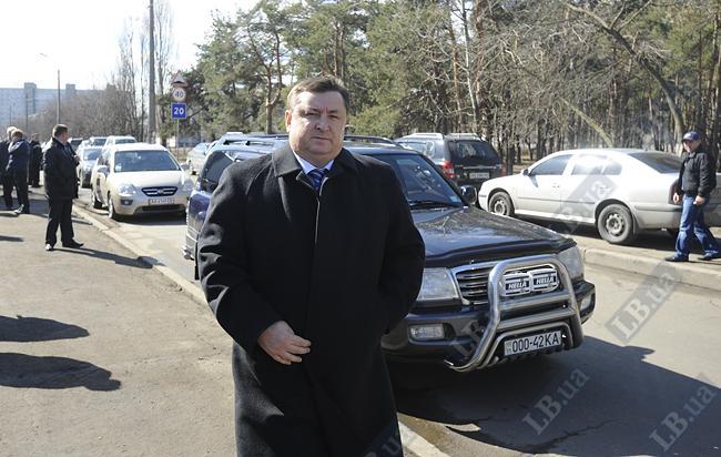 Анатолий Брезвин, президент Федерации хоккея Украины