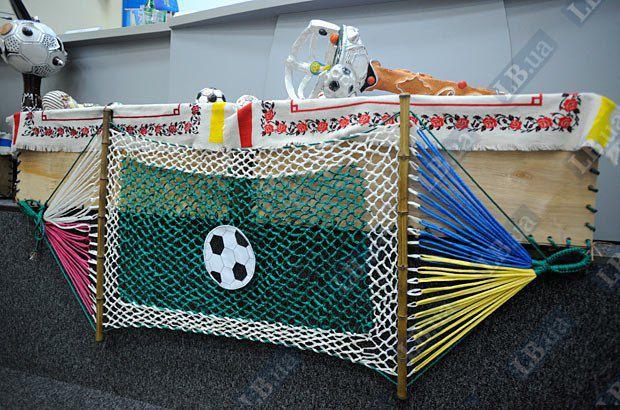 Так будет выглядеть гигантский футбольный ковер, который сплетут более 2 млн. болельщиков