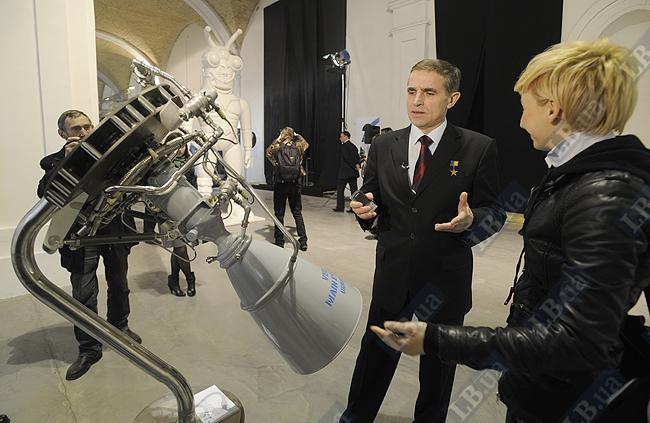 Первый космонавт Украины Леонид Каденюк