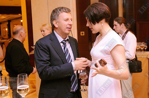 Соня Кошкина и Владимир Макеенко, народный депутат Украины