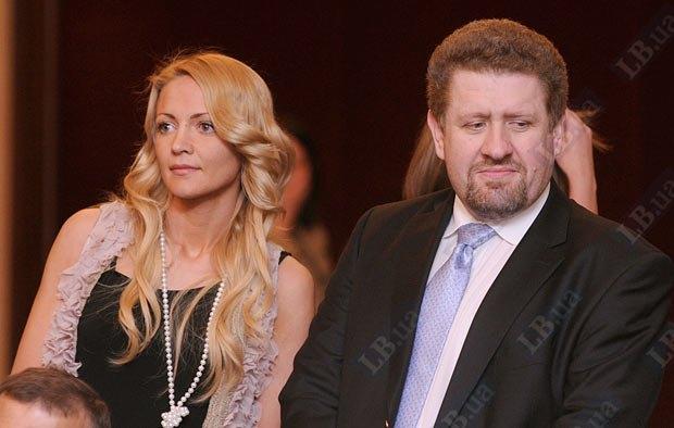 Кость Бондаренко с супругой