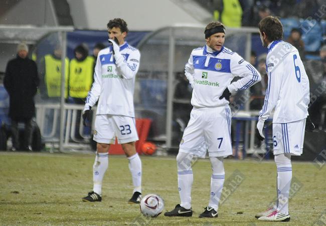 Андрей Шевченко в двух еврокубковых матчах при Семине забил столько же голов, как и в дюжине поединков под руководством Газзаева и Лужного