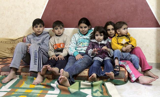 Дети Дирара и Вероники Абу-Сиси