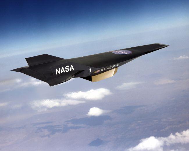 Гиперзвуковой аппарат X43a разработки Orbital