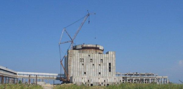 корпус несостоявшейся Крымской АЭС