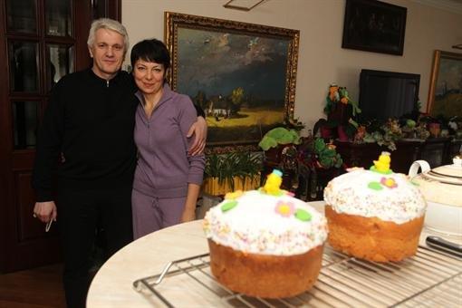 Владимир Литвин с женой Татьяной