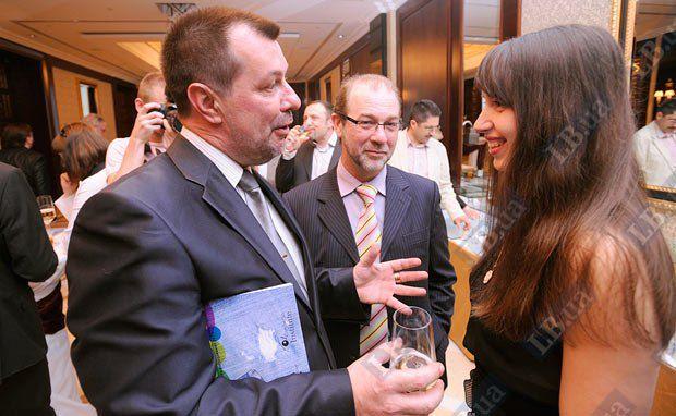 Журналист Lb.ua Таня Чорновол, директор Одесского филиала Института Горшенина Алексей Масенко (в центре)