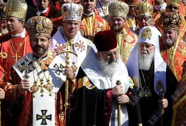 Владыка Святослав (Шевчук), Любомир Гузар и Филарет