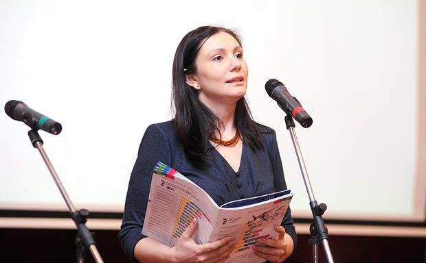 Народный депутат Украины Елена Бондаренко
