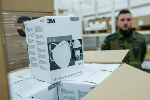 США перехватили заказанные Германией защитные маски, - СМИ