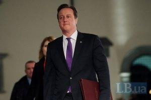 Кэмерон хочет ввести санкции против российских чиновников
