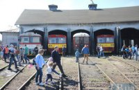 У словацькому Кошице відкрилася виставка локомотивної техніки Rušňoparada
