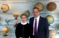 Тимошенко встретилась в США с президентом NDI
