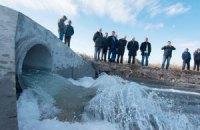 В обмелевший Куяльник пустили воду из Черного моря