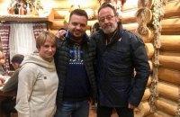 Актер Жан Рено приехал в Карпаты на съемки украинско-французского фильма