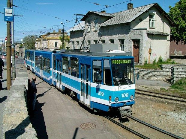 Трамвай у Таллінні