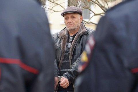 Задержанный крымский татарин попал вреанимацию