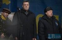 """Тягнибок не исключает договоренностей с лидером """"Правого сектора"""""""
