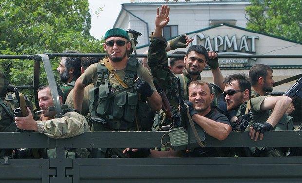 На митинге 25 мая в Донецке