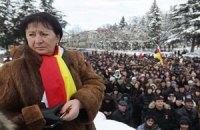 Джиоева отозвала подпись под соглашением об урегулировании в Южной Осетии