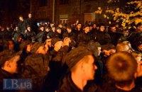 Раненые добровольцы призвали нацгвардейцев вернуться в казармы