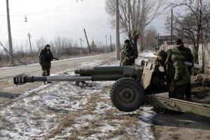Група ІО: бойовики відвели лише 10-15% озброєнь
