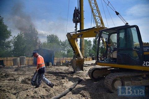 «Патриотику» не остановить: скандальное строительство на Осокорках продолжается