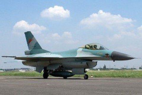 В Германии разбился американский истребитель F-16