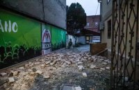 В Хорватии произошло мощное землетрясение