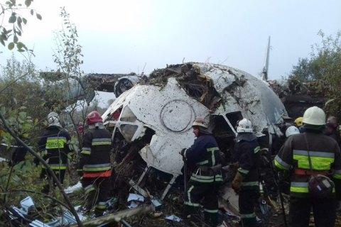 Полиция назвала четыре версии крушения Ан-12