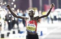 Кенійська бігунка встановила світовий рекорд у півмарафоні