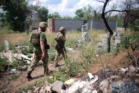 В зоне ООС сегодня погиб украинский военный