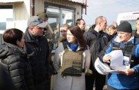 Глава МЗС Швеції відвідала Станицю Луганську