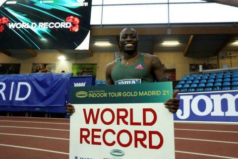 Побит мировой рекорд в беге на 60 м с барьерами, державшийся 27 лет