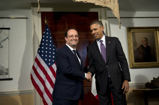 Франсуа Олланд, Барак Обама