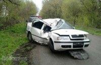 Замглавы патрульной полиции Днепра попал в ДТП возле Каменского