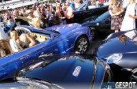 В Монако столкнулись Bentley, Porsche, Aston Martin, Mercedes и Ferrari