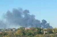 В Донецке продолжается перестрелка