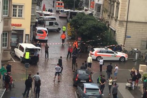 У Швейцарії затримано злочинця, який поранив бензопилкою п'ятьох людей