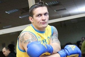 Усик опроверг переход в профессиональный бокс