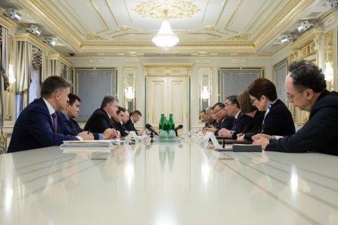 Порошенко закликав G7 засудити і не визнавати вибори президента РФ в анексованому Криму