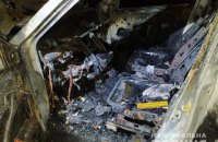 Співробітник ДСНС з Дніпропетровщини на замовлення підпалював елітні авто в Одесі