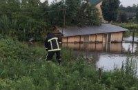 У Чернівцях унаслідок зливи підтопило 80 будинків і 150 присадибних ділянок