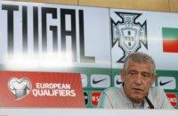 Перед матчем с Украиной тренер сборной Португалии допустил досадную ошибку на пресс-конференции